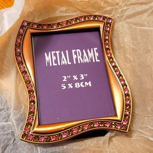 2/$25 or 3/$30 Small Metal Picture Frame